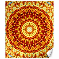 Powerful Love Mandala Canvas 20  X 24   by designworld65