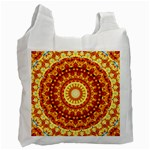 Powerful Love Mandala Recycle Bag (One Side) Front