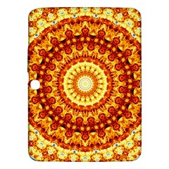 Powerful Love Mandala Samsung Galaxy Tab 3 (10 1 ) P5200 Hardshell Case  by designworld65