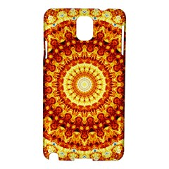 Powerful Love Mandala Samsung Galaxy Note 3 N9005 Hardshell Case by designworld65