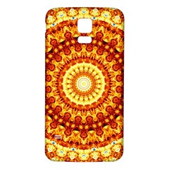 Powerful Love Mandala Samsung Galaxy S5 Back Case (white) by designworld65