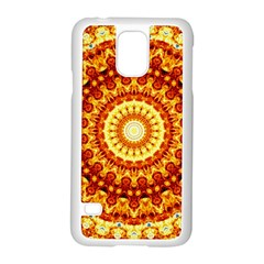 Powerful Love Mandala Samsung Galaxy S5 Case (white) by designworld65
