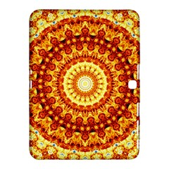 Powerful Love Mandala Samsung Galaxy Tab 4 (10 1 ) Hardshell Case  by designworld65