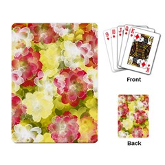 Flower Power Playing Card by designworld65