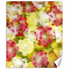 Flower Power Canvas 20  X 24   by designworld65