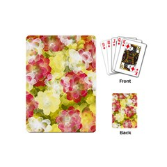 Flower Power Playing Cards (mini)  by designworld65