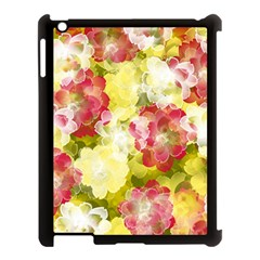 Flower Power Apple Ipad 3/4 Case (black) by designworld65