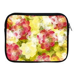 Flower Power Apple Ipad 2/3/4 Zipper Cases by designworld65
