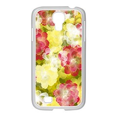 Flower Power Samsung Galaxy S4 I9500/ I9505 Case (white) by designworld65