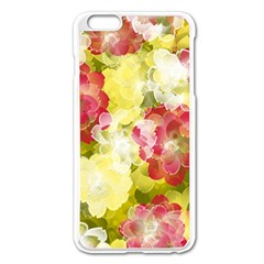 Flower Power Apple Iphone 6 Plus/6s Plus Enamel White Case by designworld65