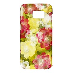Flower Power Samsung Galaxy S7 Edge Hardshell Case