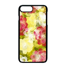 Flower Power Apple Iphone 7 Plus Seamless Case (black) by designworld65
