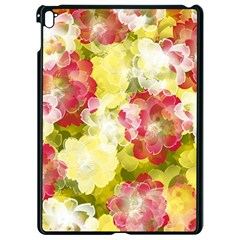 Flower Power Apple Ipad Pro 9 7   Black Seamless Case by designworld65