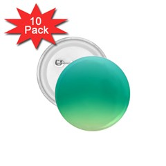 Sealife Green Gradient 1 75  Buttons (10 Pack)