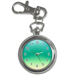 Sealife Green Gradient Key Chain Watches by designworld65