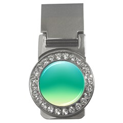 Sealife Green Gradient Money Clips (cz)