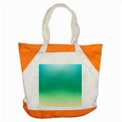 Sealife Green Gradient Accent Tote Bag by designworld65