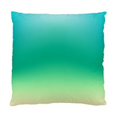 Sealife Green Gradient Standard Cushion Case (two Sides) by designworld65