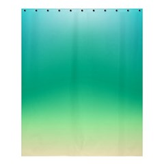 Sealife Green Gradient Shower Curtain 60  X 72  (medium)  by designworld65