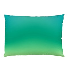 Sealife Green Gradient Pillow Case (two Sides) by designworld65