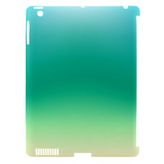 Sealife Green Gradient Apple Ipad 3/4 Hardshell Case (compatible With Smart Cover)