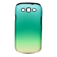 Sealife Green Gradient Samsung Galaxy S Iii Classic Hardshell Case (pc+silicone) by designworld65