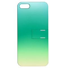 Sealife Green Gradient Apple Iphone 5 Hardshell Case With Stand by designworld65