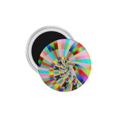 Irritation Funny Crazy Stripes Spiral 1 75  Magnets