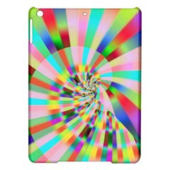 Irritation Funny Crazy Stripes Spiral Ipad Air Hardshell Cases by designworld65