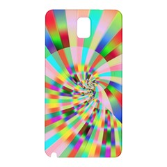 Irritation Funny Crazy Stripes Spiral Samsung Galaxy Note 3 N9005 Hardshell Back Case by designworld65