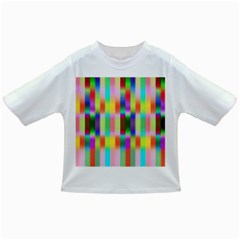 Multicolored Irritation Stripes Infant/toddler T Shirts by designworld65
