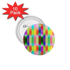 Multicolored Irritation Stripes 1 75  Buttons (10 Pack) by designworld65