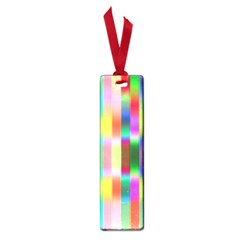 Multicolored Irritation Stripes Small Book Marks by designworld65