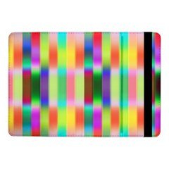 Multicolored Irritation Stripes Samsung Galaxy Tab Pro 10 1  Flip Case by designworld65