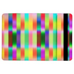 Multicolored Irritation Stripes Ipad Air 2 Flip by designworld65
