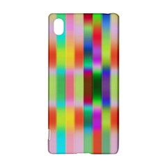Multicolored Irritation Stripes Sony Xperia Z3+ by designworld65