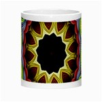 Love Energy Mandala Night Luminous Mugs Center