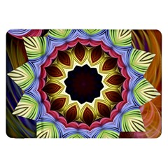 Love Energy Mandala Samsung Galaxy Tab 8 9  P7300 Flip Case by designworld65