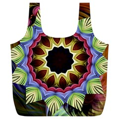Love Energy Mandala Full Print Recycle Bags (l)  by designworld65