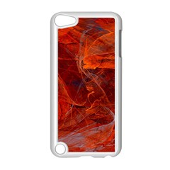 Swirly Love In Deep Red Apple Ipod Touch 5 Case (white) by designworld65