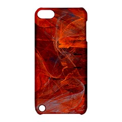 Swirly Love In Deep Red Apple Ipod Touch 5 Hardshell Case With Stand by designworld65