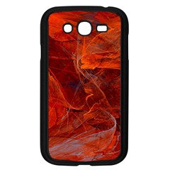 Swirly Love In Deep Red Samsung Galaxy Grand Duos I9082 Case (black) by designworld65