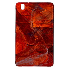 Swirly Love In Deep Red Samsung Galaxy Tab Pro 8 4 Hardshell Case by designworld65