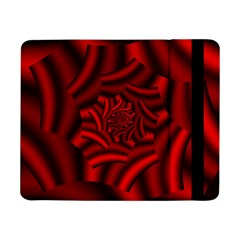 Metallic Red Rose Samsung Galaxy Tab Pro 8 4  Flip Case by designworld65