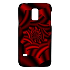 Metallic Red Rose Galaxy S5 Mini by designworld65