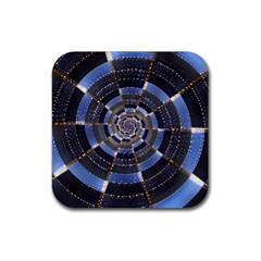Midnight Crazy Dart Rubber Coaster (square)  by designworld65