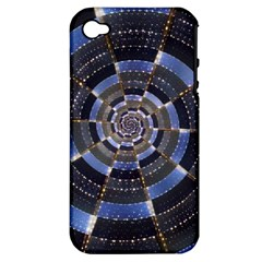 Midnight Crazy Dart Apple Iphone 4/4s Hardshell Case (pc+silicone) by designworld65