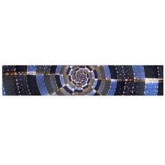 Midnight Crazy Dart Flano Scarf (large) by designworld65