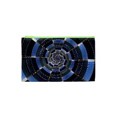 Midnight Crazy Dart Cosmetic Bag (xs) by designworld65