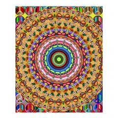 Peaceful Mandala Shower Curtain 60  X 72  (medium)  by designworld65
